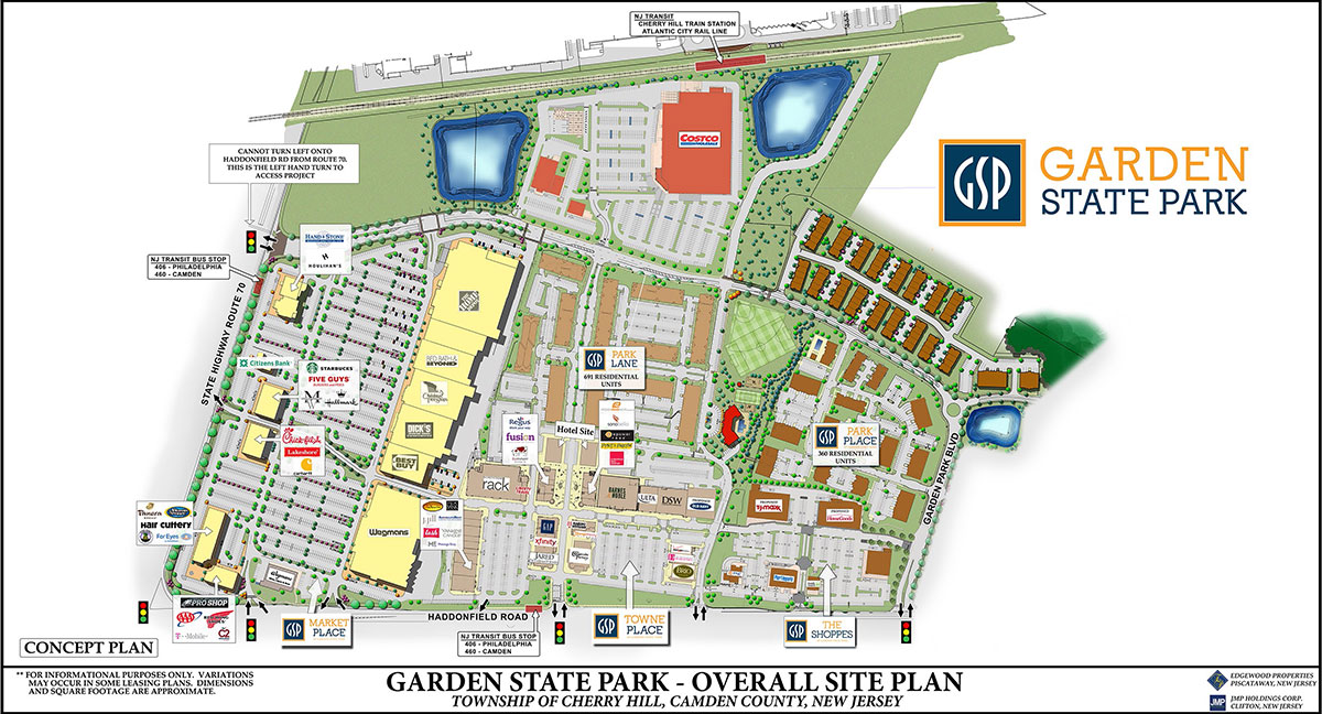 Park lane at garden state park luxury living in south - Market place at garden state park ...