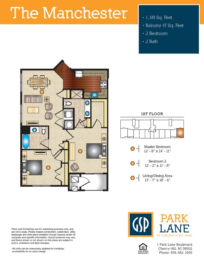 park lane at garden state park brand new luxury apartments in floor plans pricing
