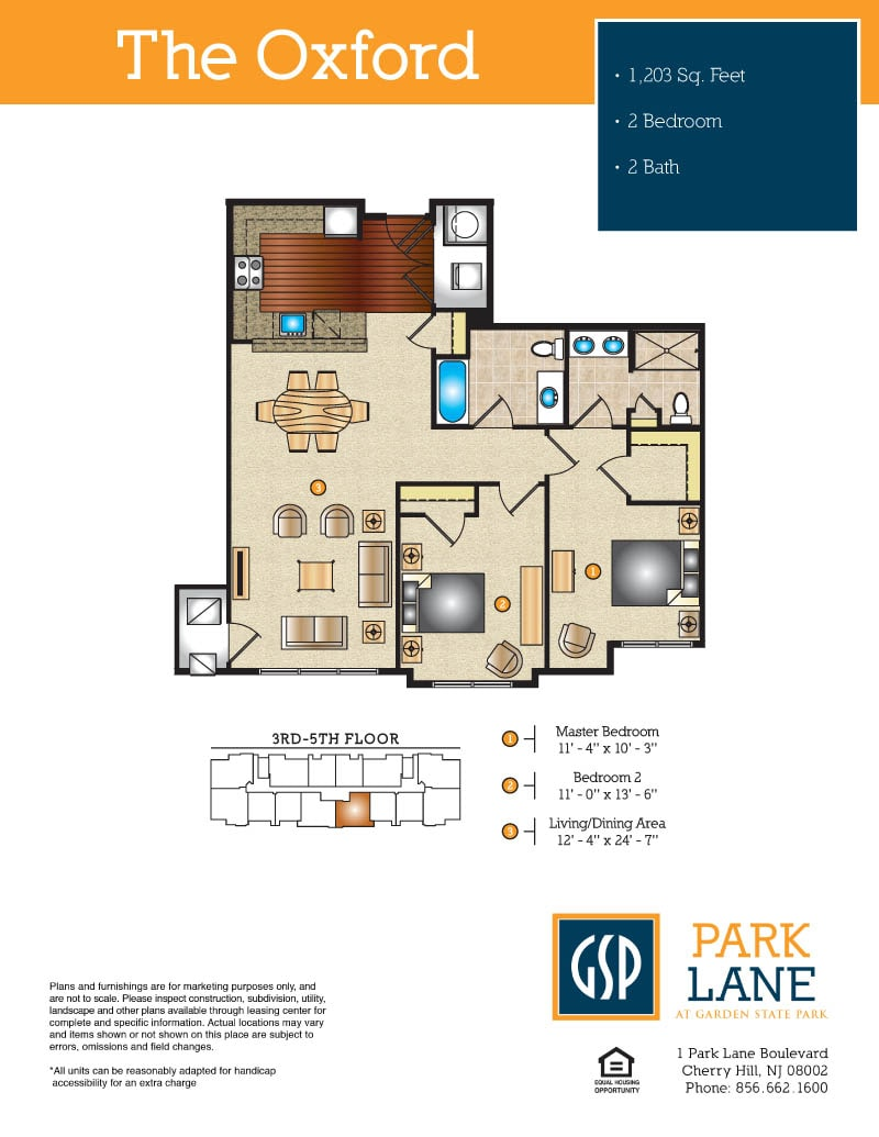 park lane at garden state park brand new luxury apartments in the oxford 2 bedrooms 2 bath 1 203 sq ft from 2 281
