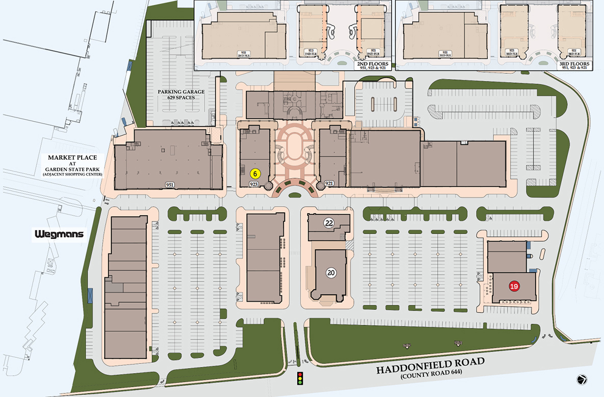 Towne place at garden state park retail space in south - Towne place at garden state park ...